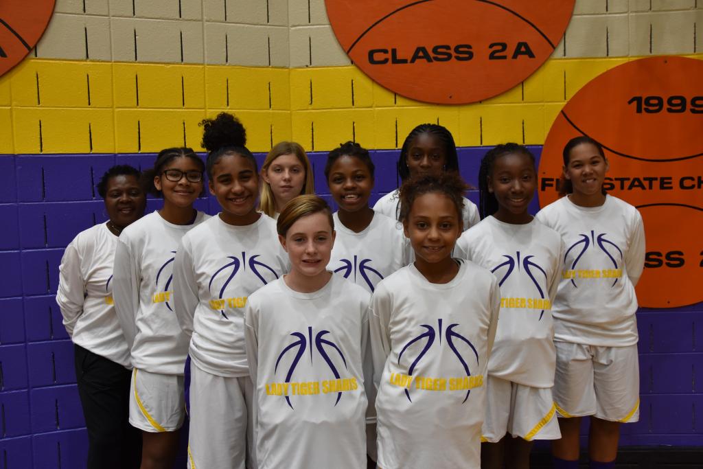 Girls Basketball team athletics gallery photo